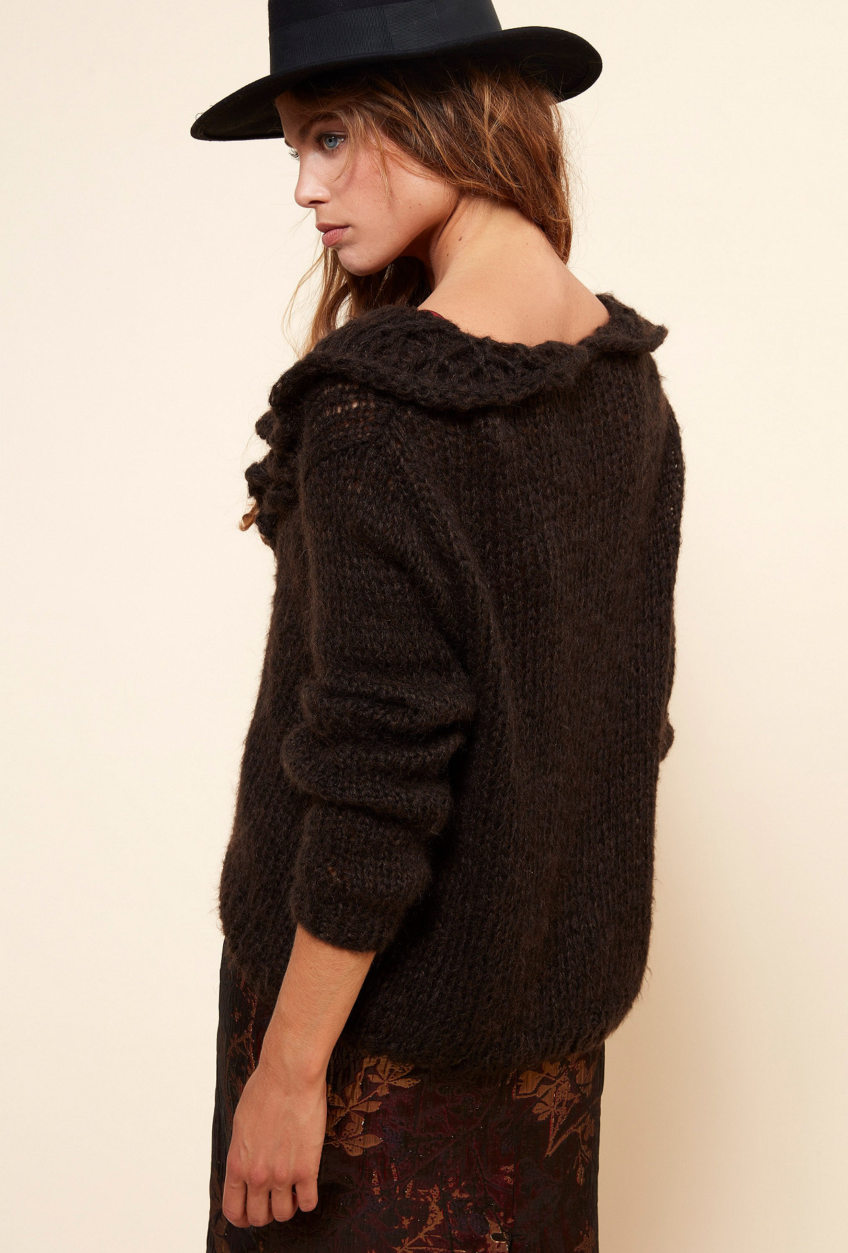 Charcoal Knit Frisco Mes Demoiselles Paris