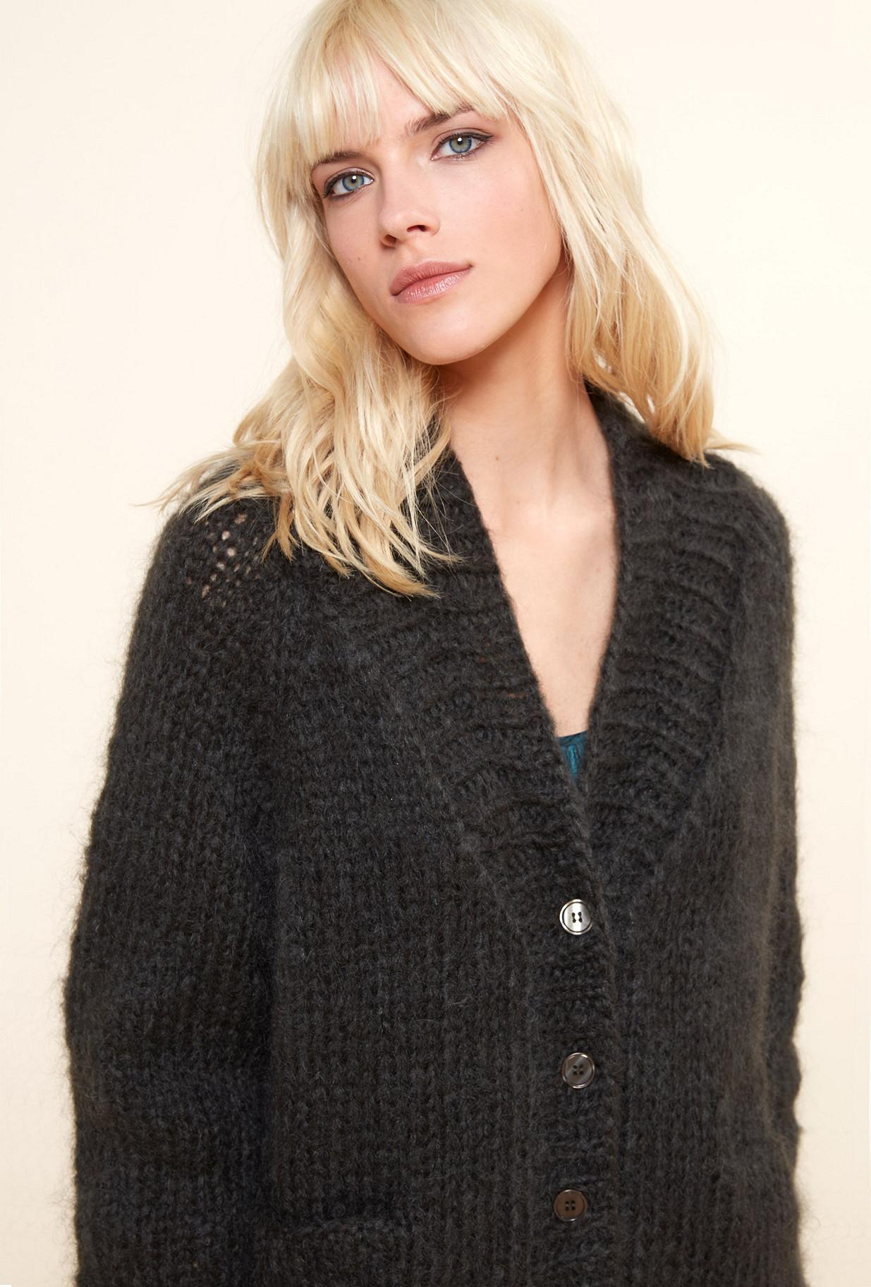 Khaki  Knit  Jecko Mes demoiselles fashion clothes designer Paris