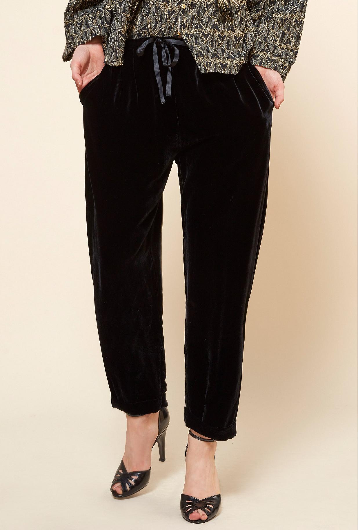 Black  PANT  Milo Mes demoiselles fashion clothes designer Paris