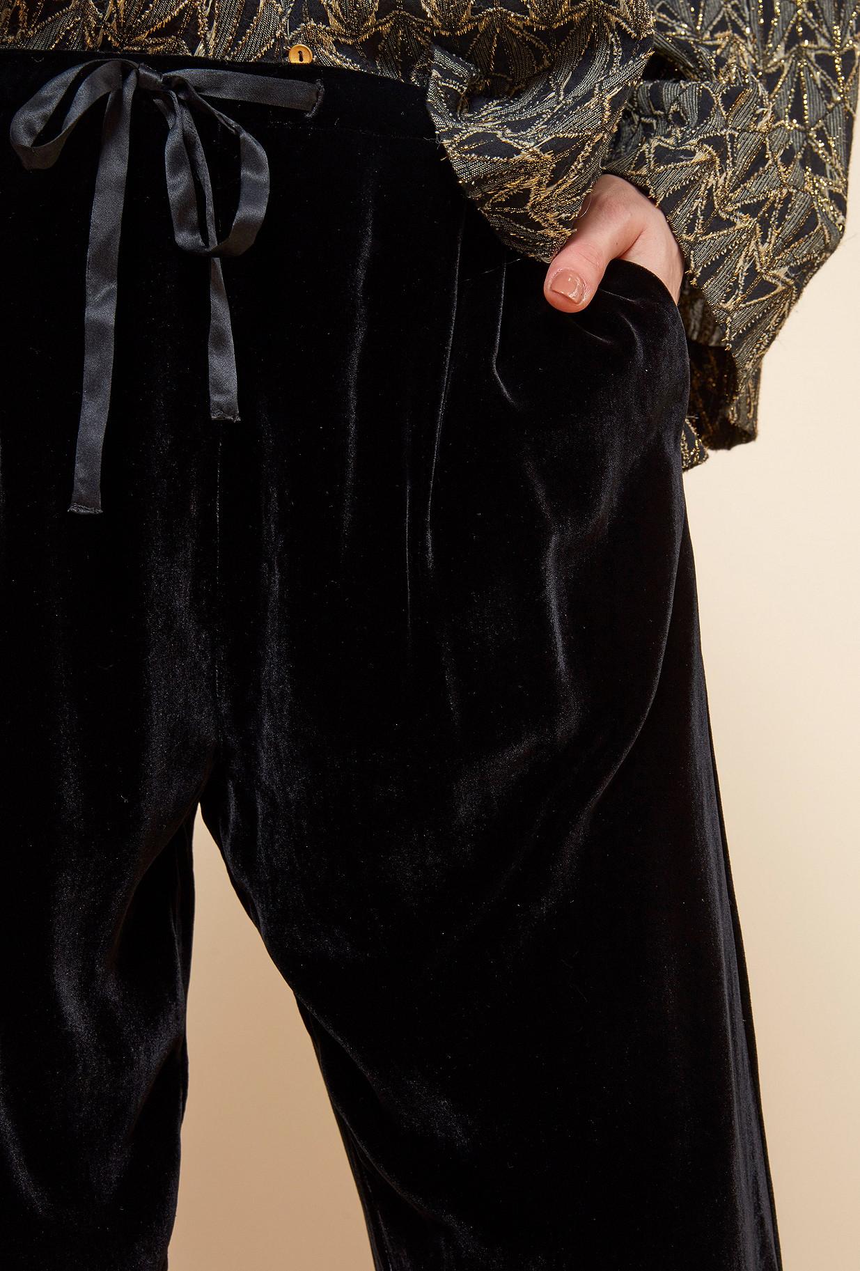 PANTALON Noir  Milo mes demoiselles paris vêtement femme paris