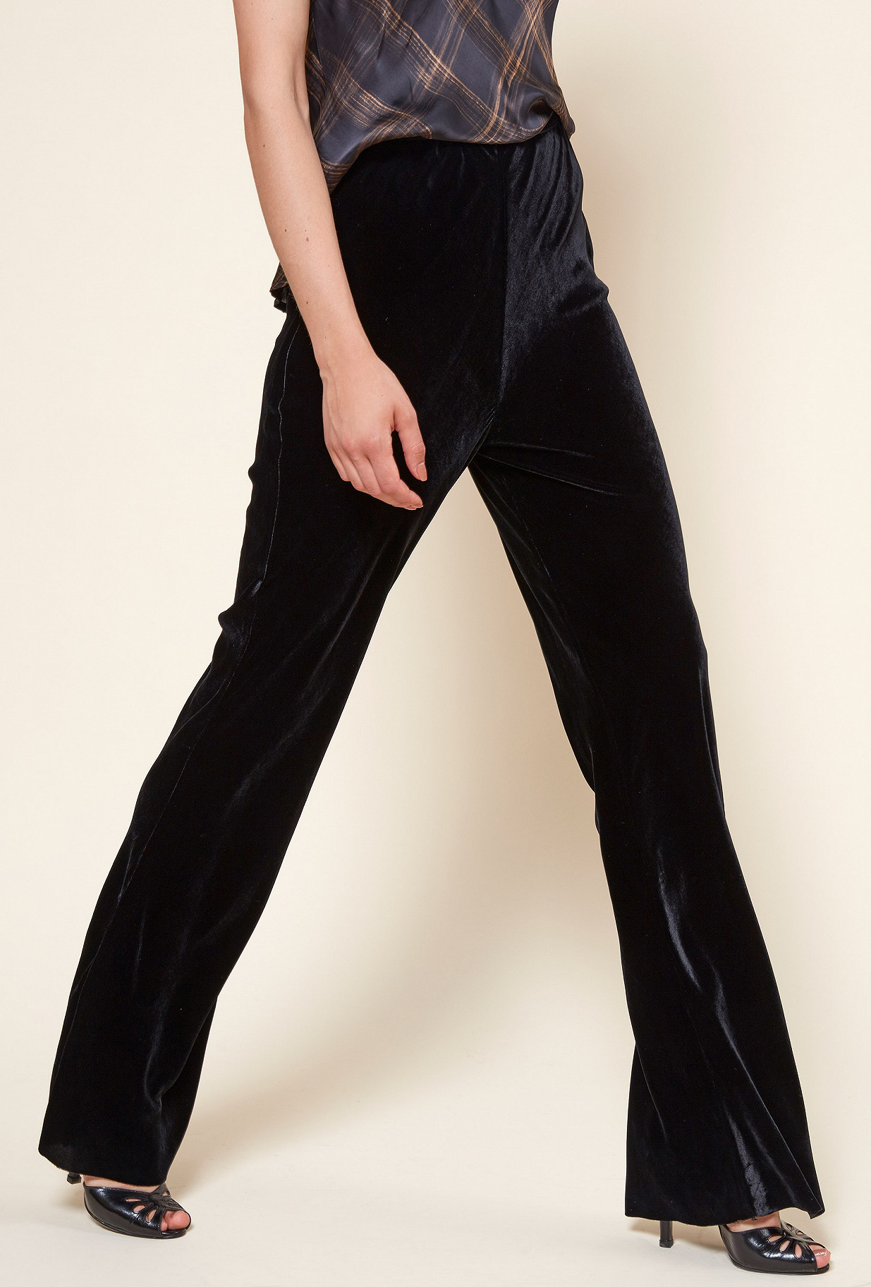Black  PANT  Monica Mes demoiselles fashion clothes designer Paris