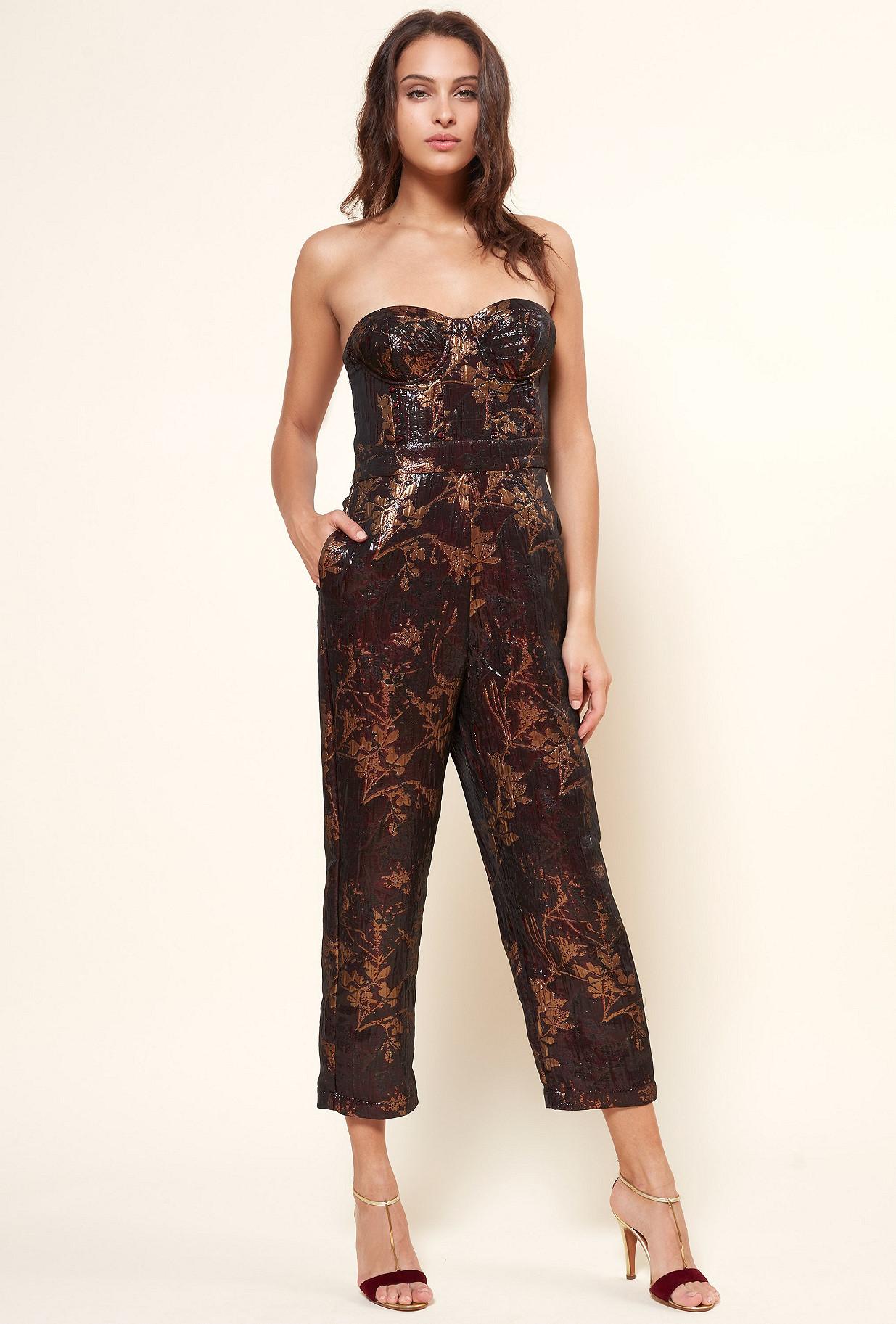 Red  Jumpsuit  Quantum Mes demoiselles fashion clothes designer Paris