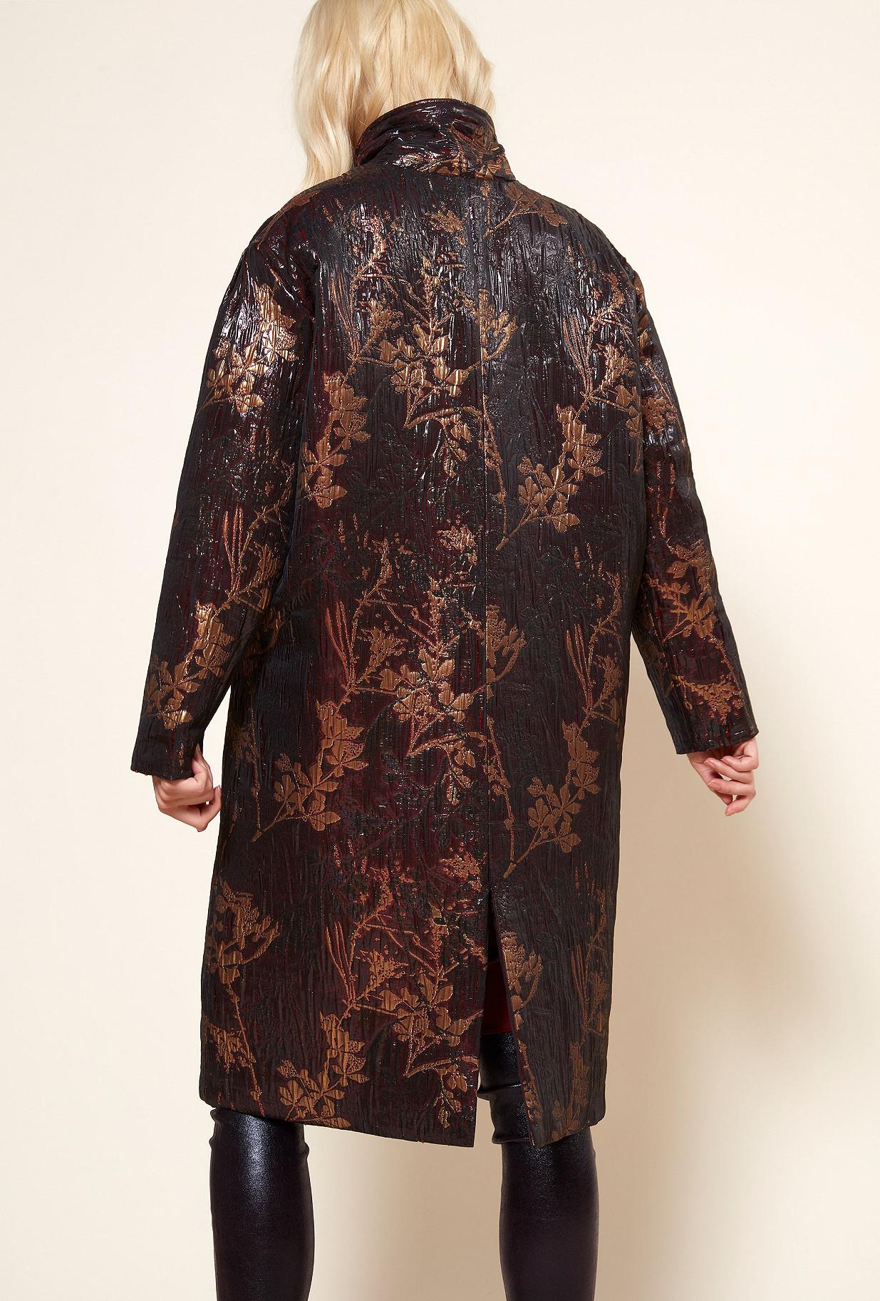 Red  COAT  Quartz Mes demoiselles fashion clothes designer Paris