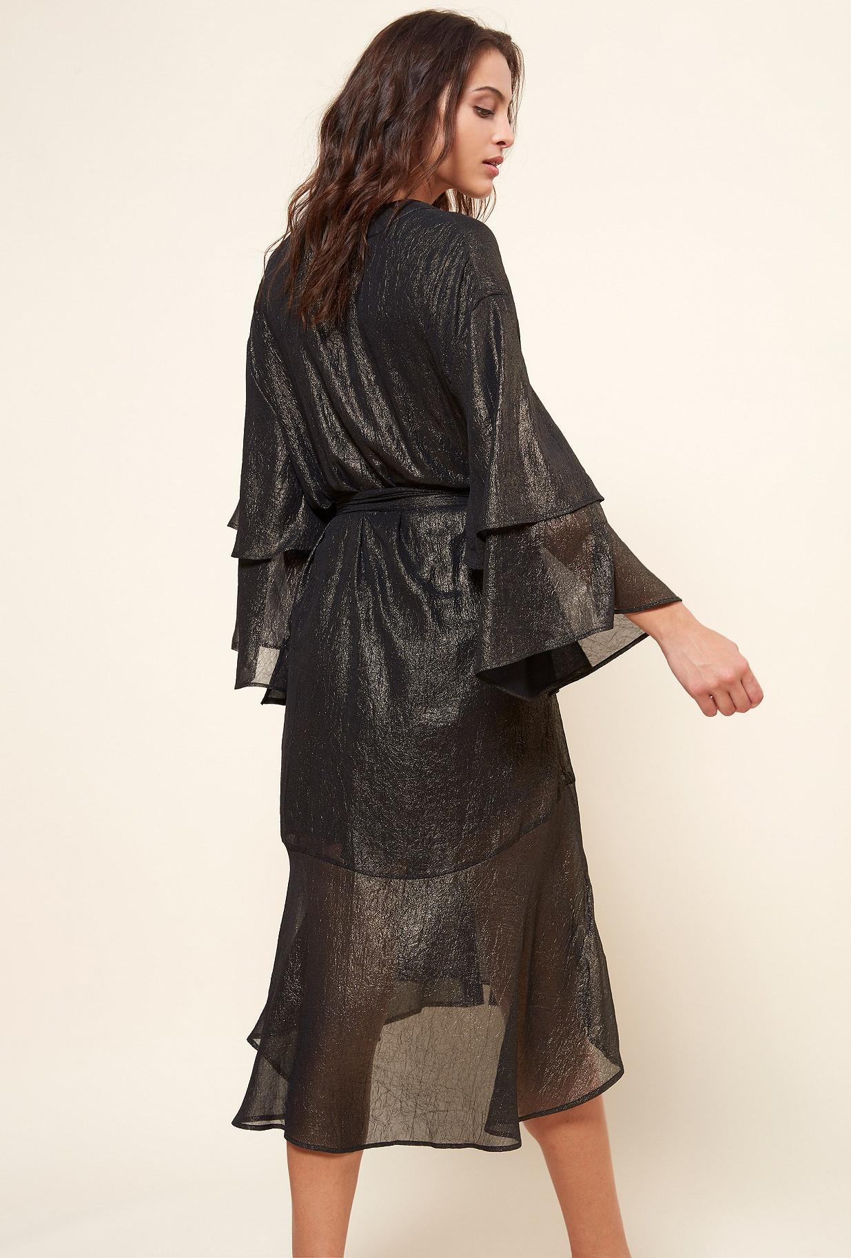 Bronze  KIMONO  Reflexion Mes demoiselles fashion clothes designer Paris