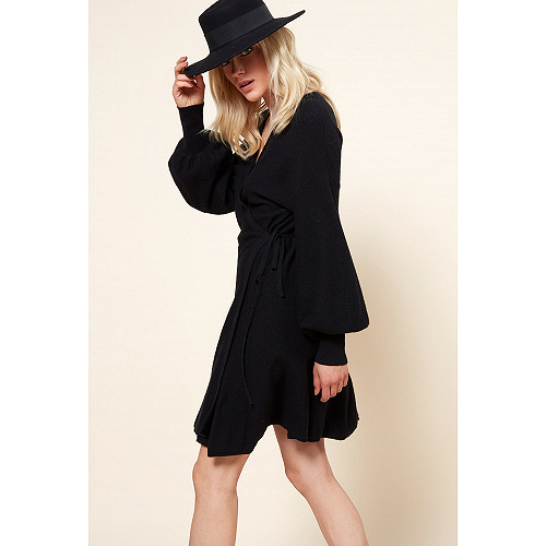 Robe Noir  Sevilla mes demoiselles paris vêtement femme paris