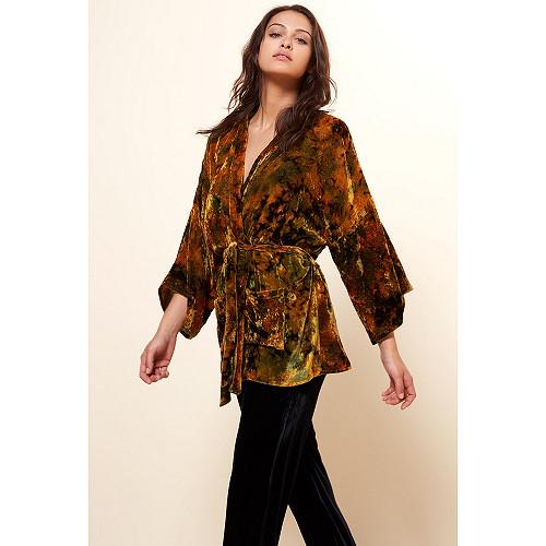 Floral print  KIMONO  Shana Mes demoiselles fashion clothes designer Paris
