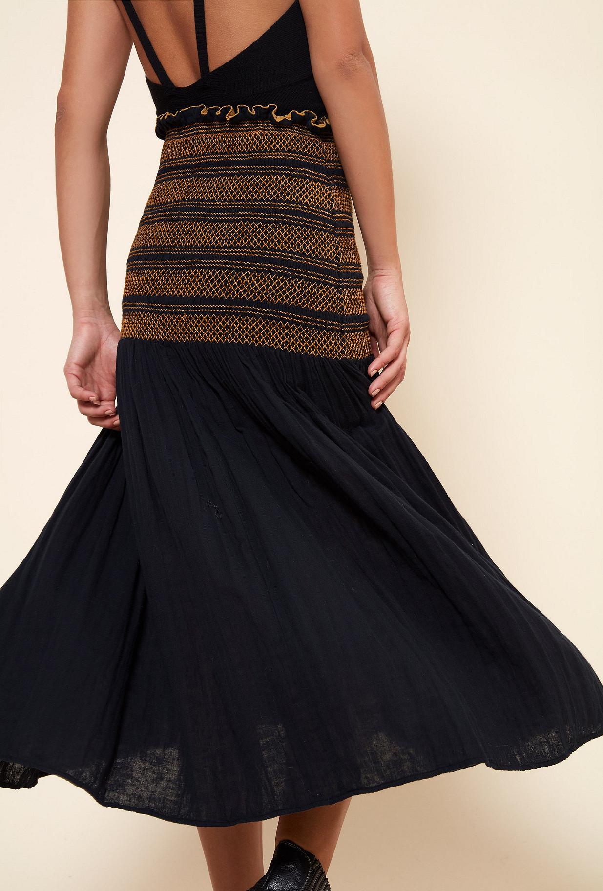 Black  Skirt  Toinette Mes demoiselles fashion clothes designer Paris