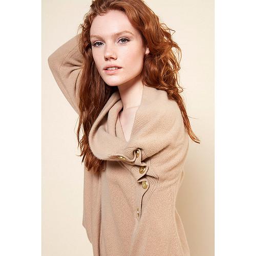Camel  Knit  Corsaire Mes demoiselles fashion clothes designer Paris