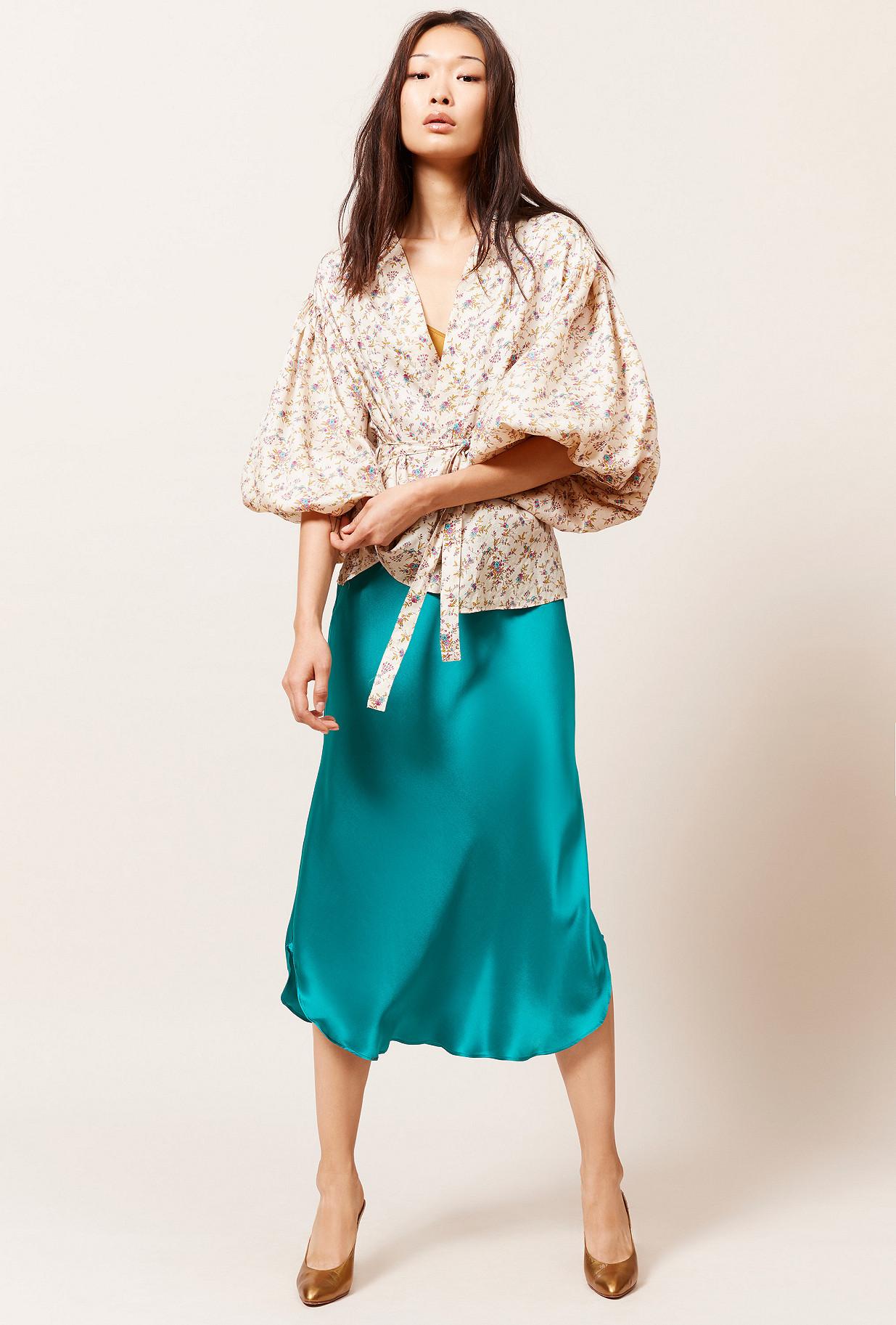 Kimono Imprimé fleuri  Gondolfo mes demoiselles paris vêtement femme paris