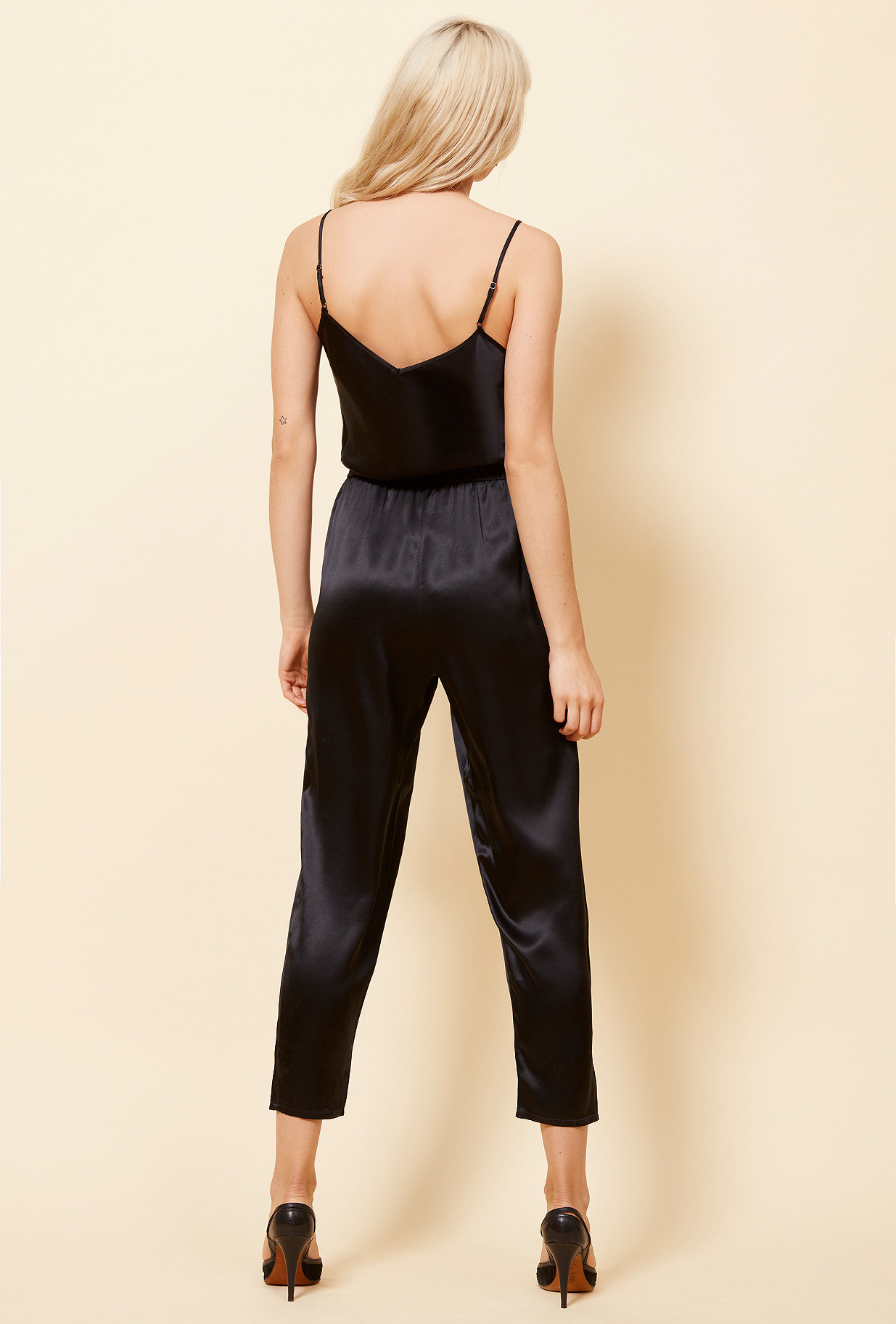 Black  Jumpsuit  Almond Mes demoiselles fashion clothes designer Paris