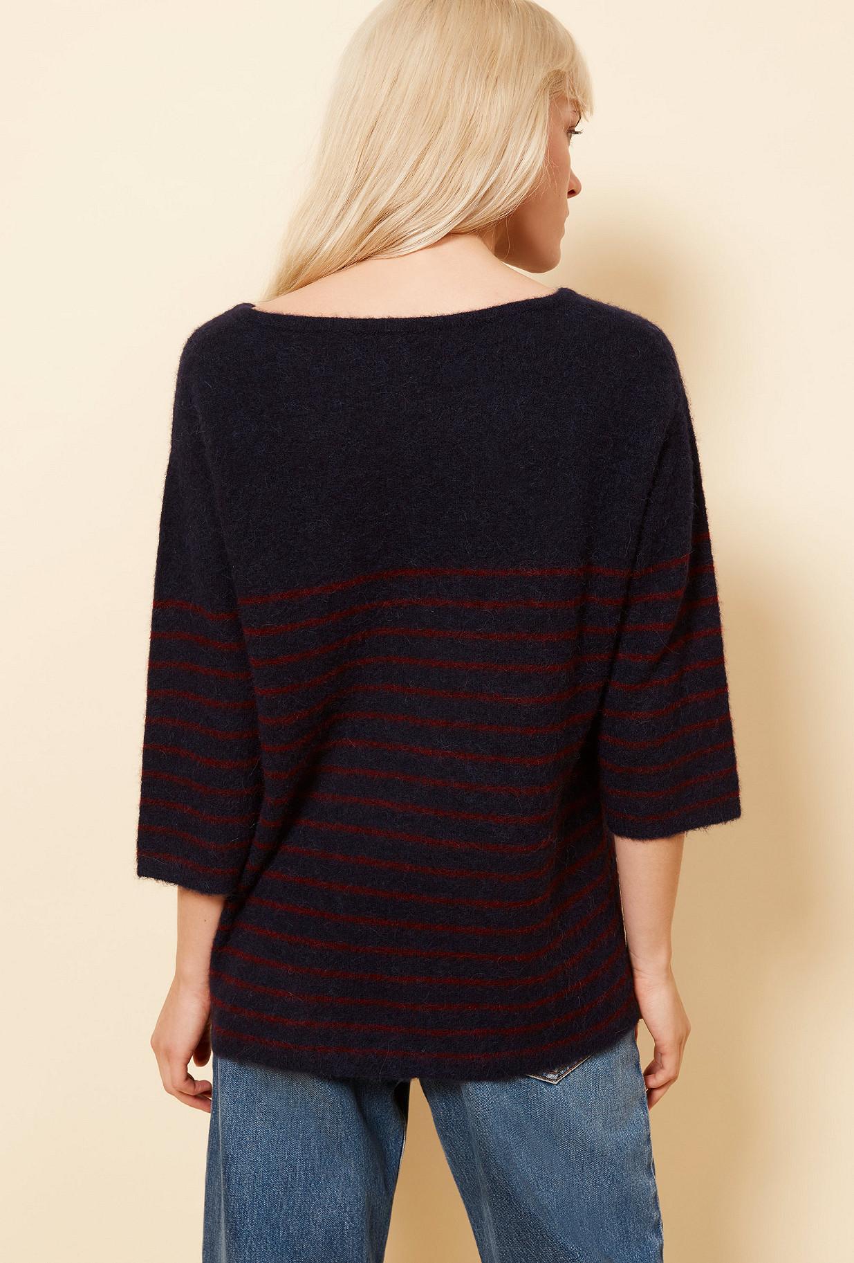 Navy Sweater Autissier Mes Demoiselles Paris