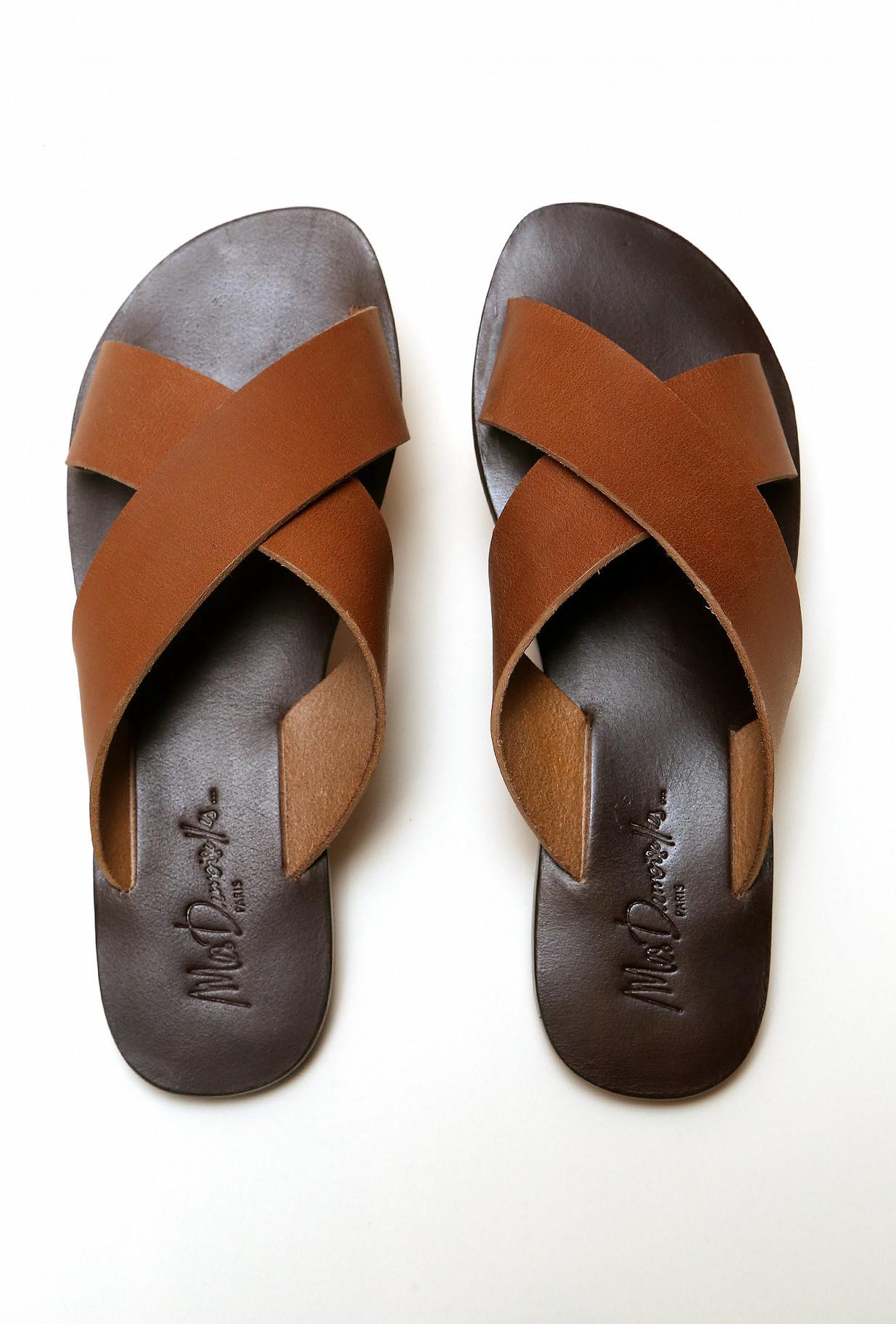 Sandals  Sandals Ankh Out&in Cow L Sole :buffalo L Mes demoiselles fashion clothes designer Paris