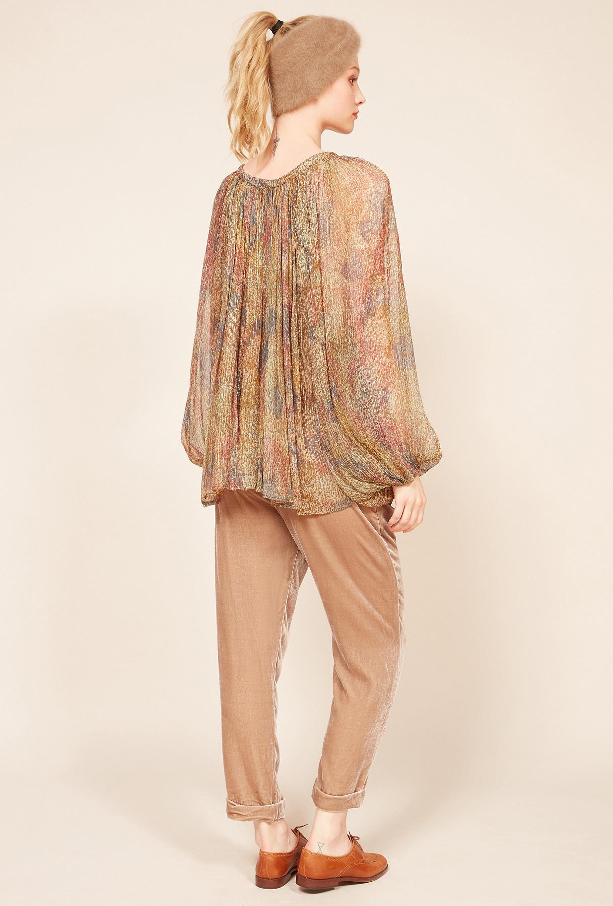 Floral print  Blouse  Acacia Mes demoiselles fashion clothes designer Paris