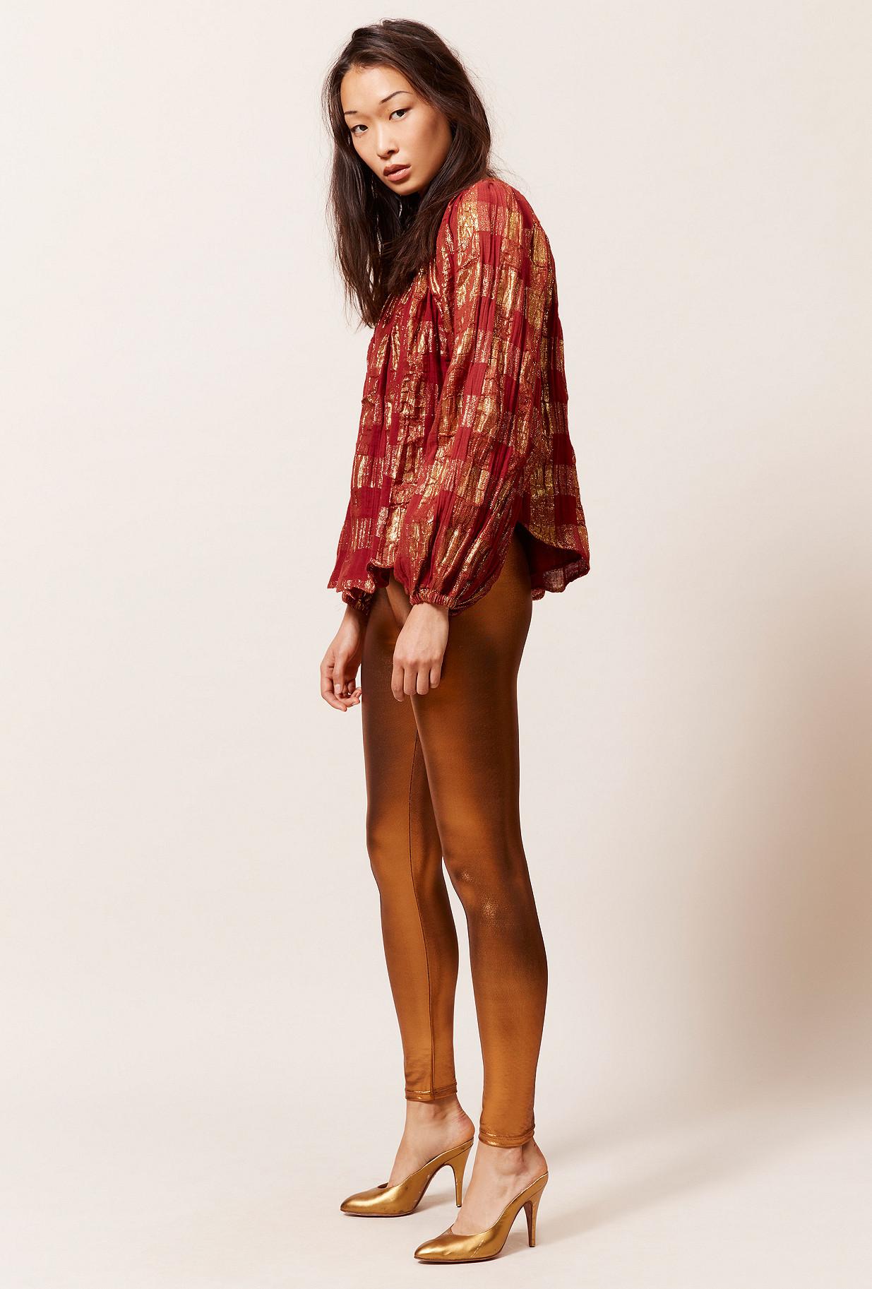 clothes store Blouse  Blouse Mojdeh 90%co 10%mtf Pes(at L 100% Co) french designer fashion Paris