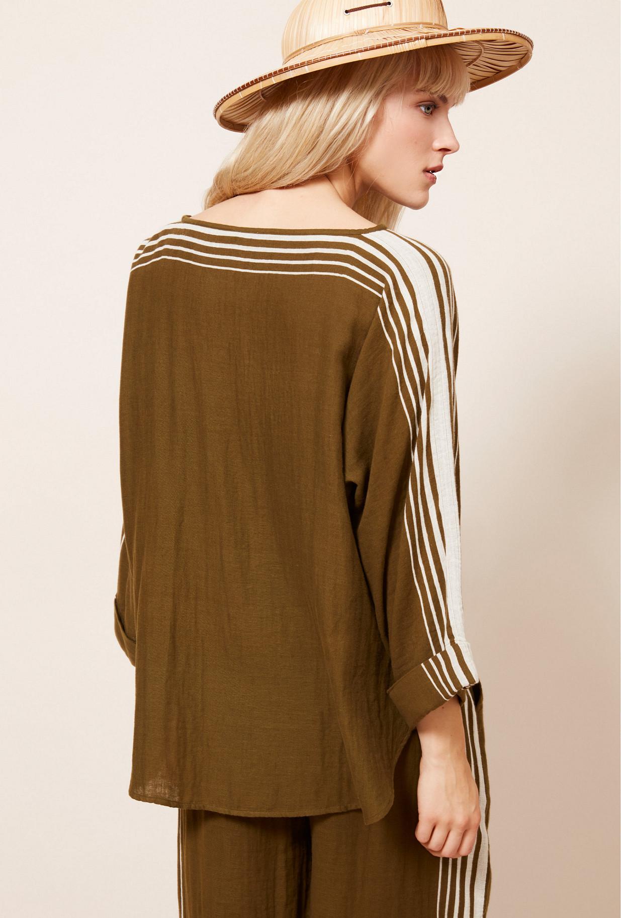 Khaki  Blouse  Avantstella Mes demoiselles fashion clothes designer Paris