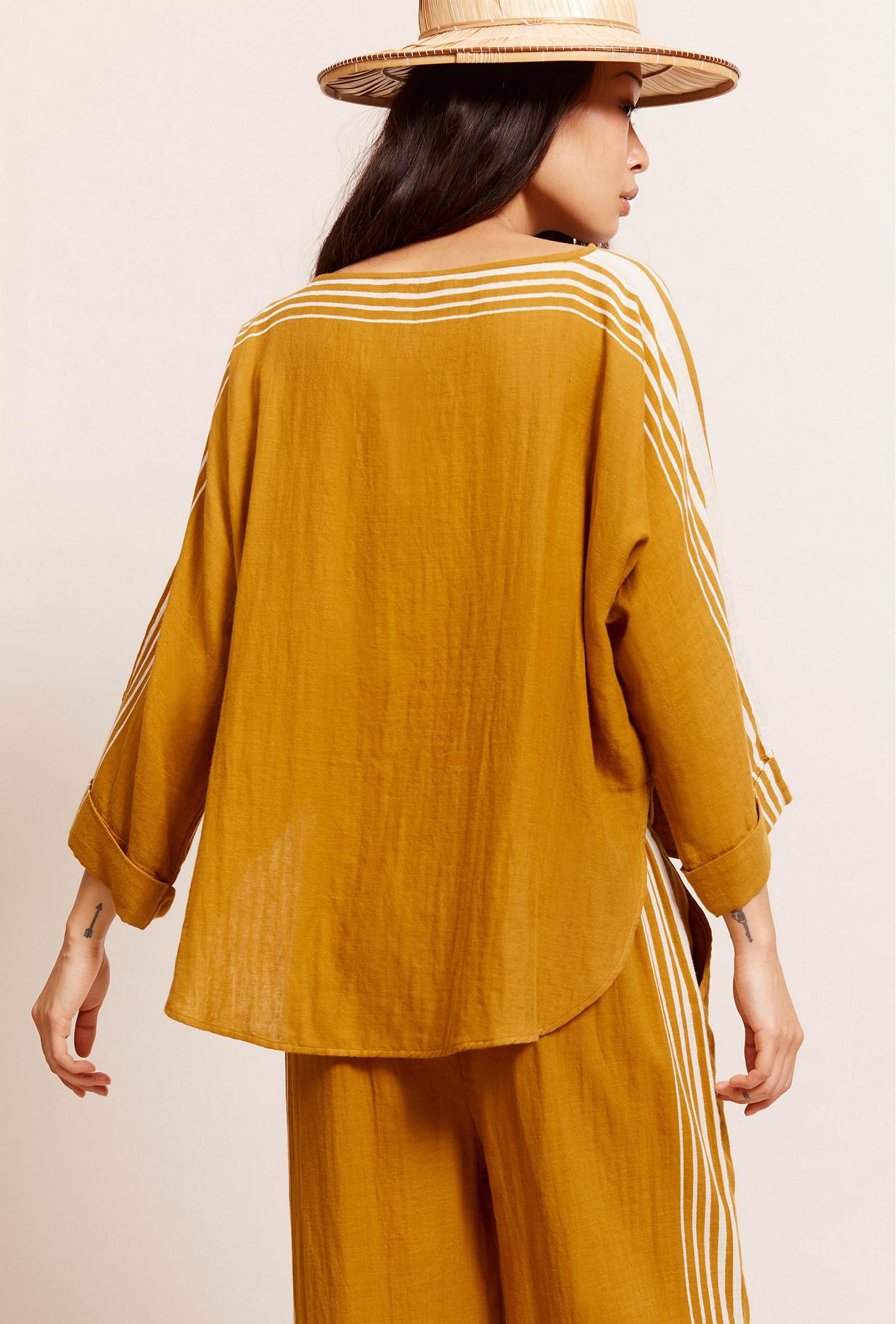 Ocre  Blouse  Avantstella Mes demoiselles fashion clothes designer Paris