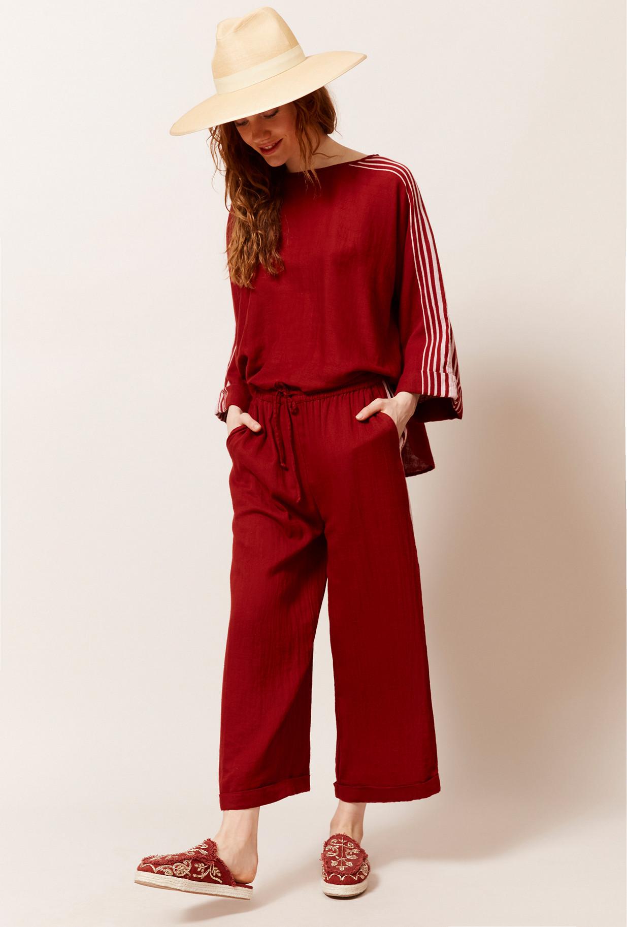 Red Pant Adidaney Mes Demoiselles Paris