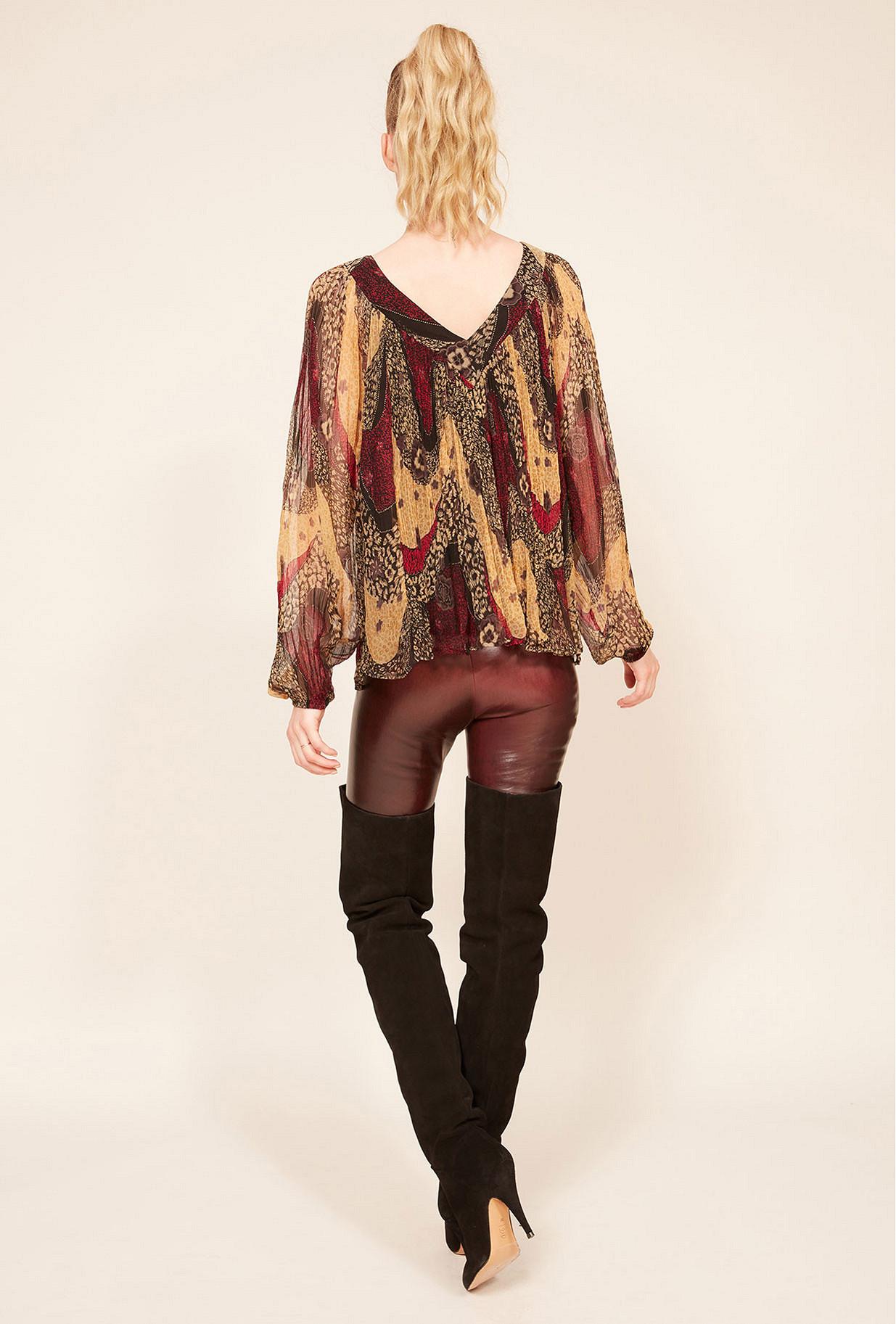 Paris clothes store Blouse  Sabri french designer fashion Paris