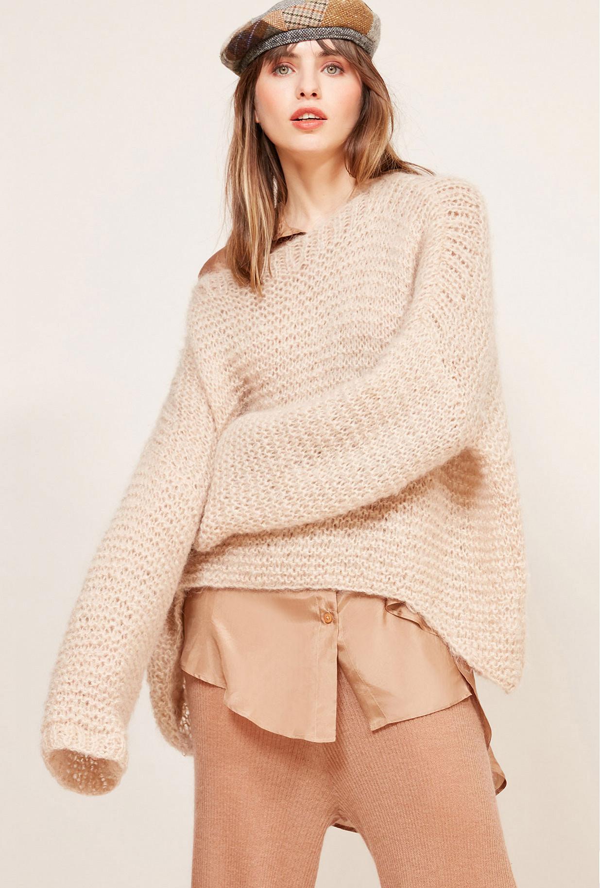 Paris clothes store Sweater  Crecelle french designer fashion Paris