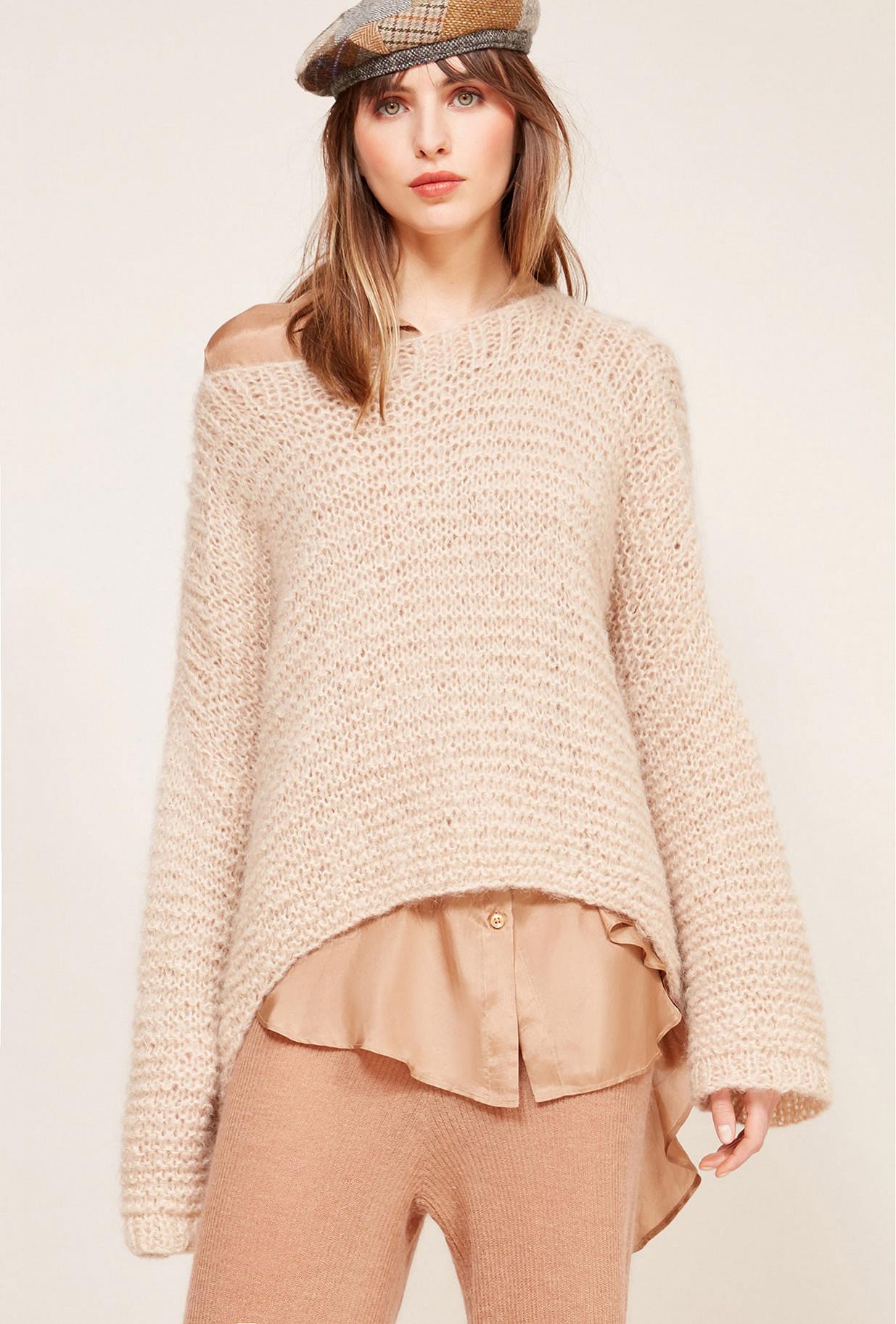 Paris boutique de mode vêtement Pull créateur bohème  Crecelle
