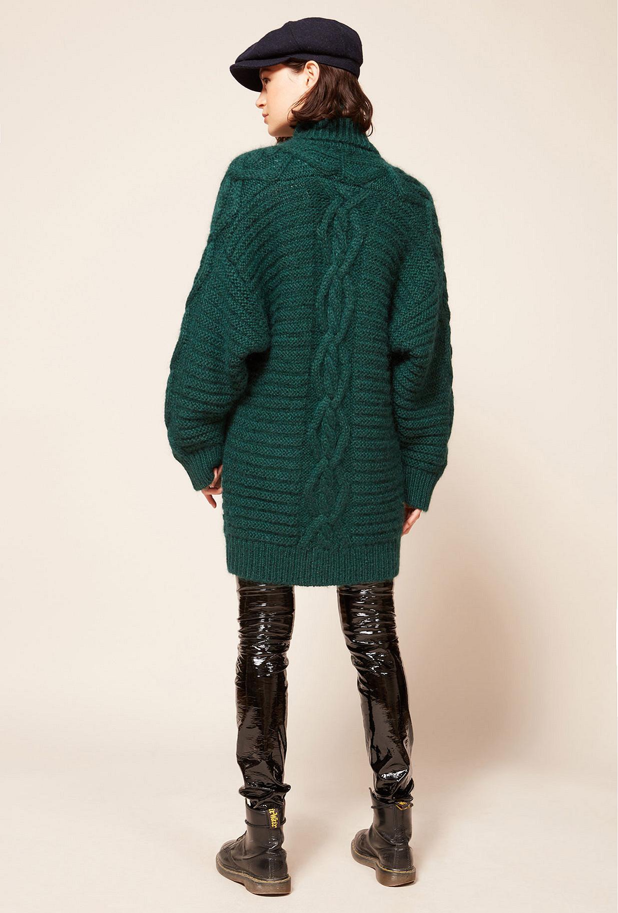 Cardigan Vert  Coaz mes demoiselles paris vêtement femme paris