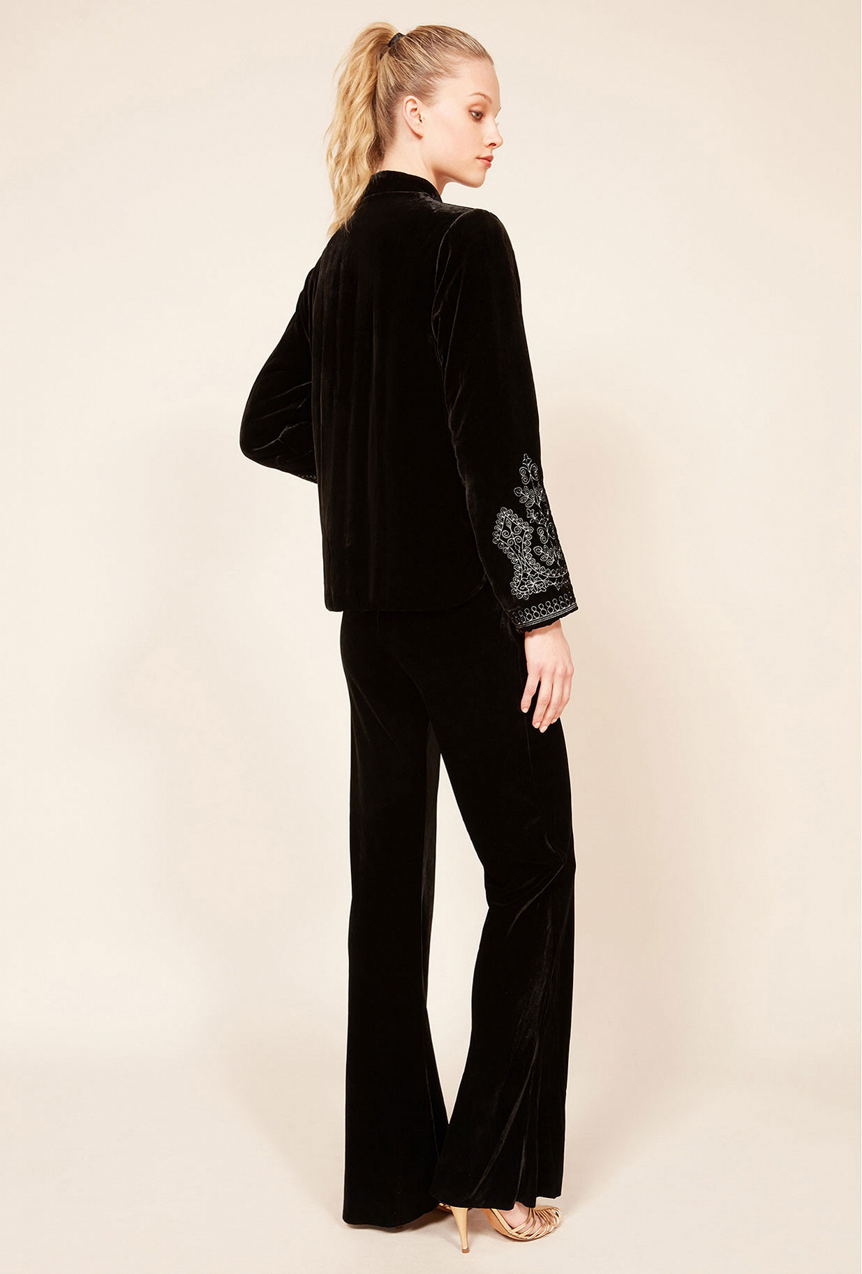 Black  Jacket  March Mes demoiselles fashion clothes designer Paris