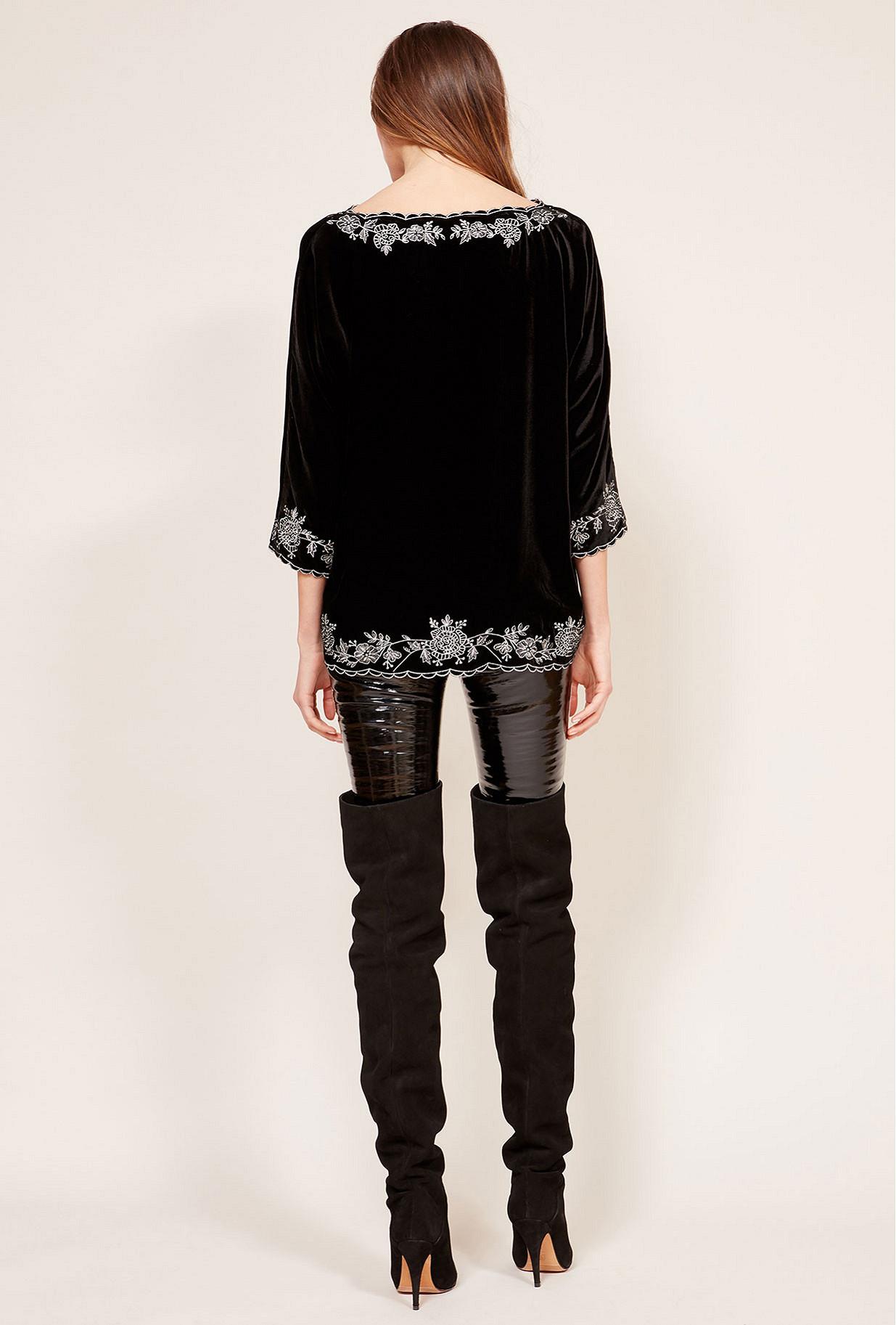 Black  Top  Matter Mes demoiselles fashion clothes designer Paris