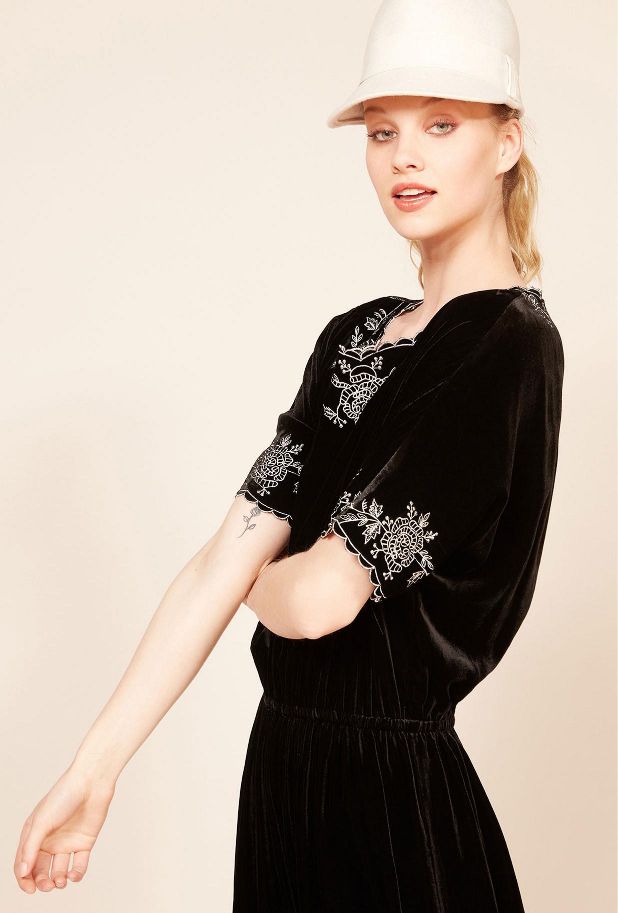 Black  Dress  May Mes demoiselles fashion clothes designer Paris