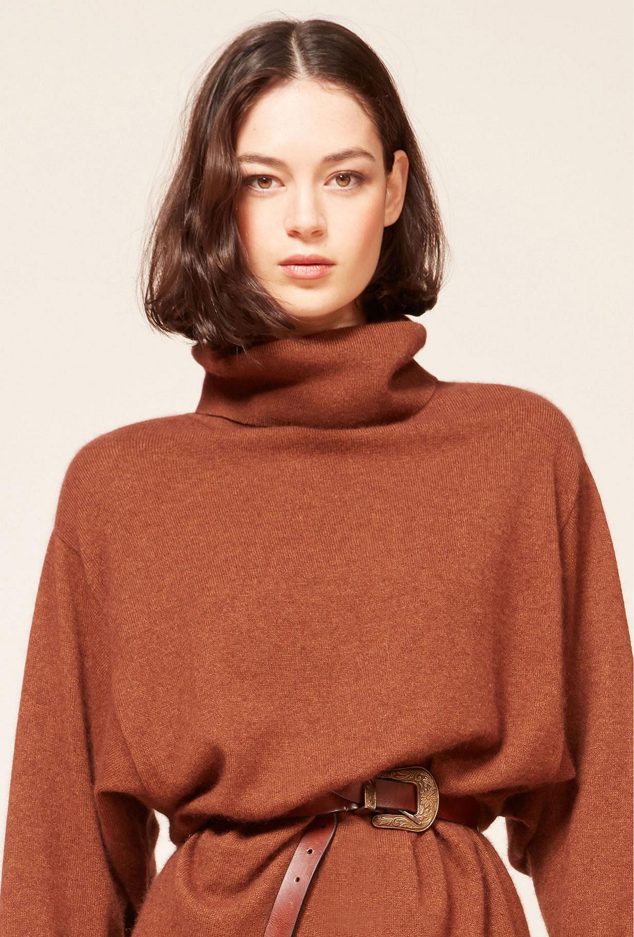Brown Dress Calabria