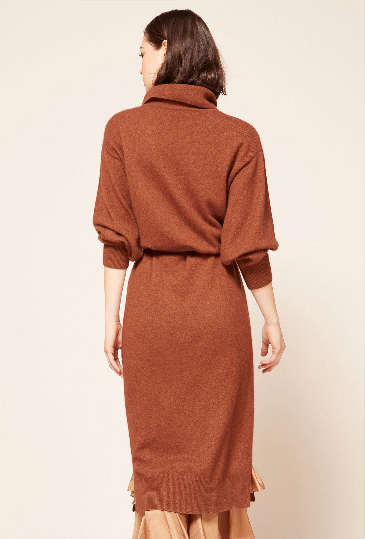 Robe Marron  Calabria mes demoiselles paris vêtement femme paris