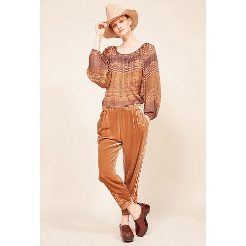 Nude  pant  Mercury Mes demoiselles fashion clothes designer Paris