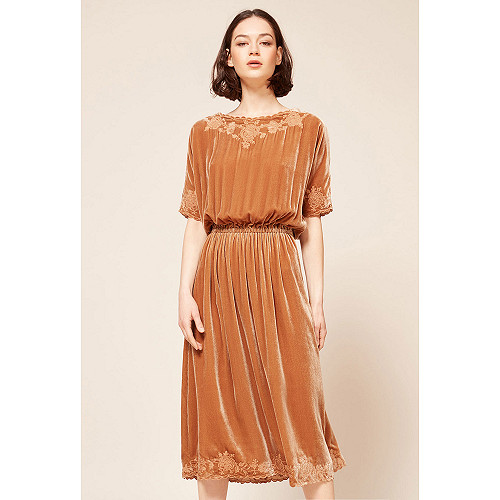 Nude  Dress  May Mes demoiselles fashion clothes designer Paris