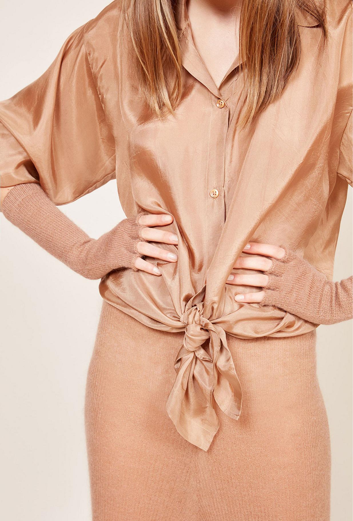 Terracotta  Mittens  Sade Mes demoiselles fashion clothes designer Paris