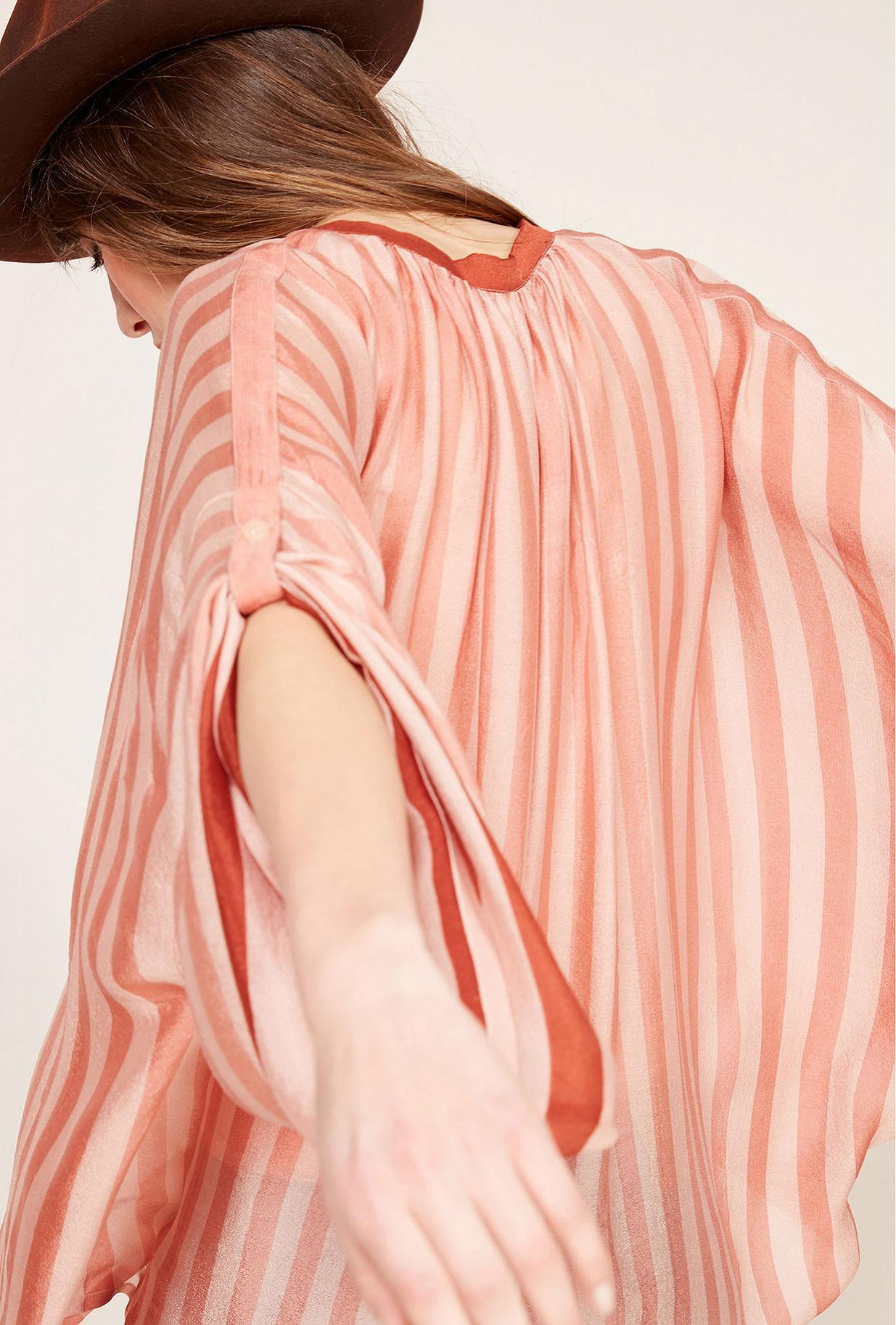 Nude  Blouse  Sunlight Mes demoiselles fashion clothes designer Paris