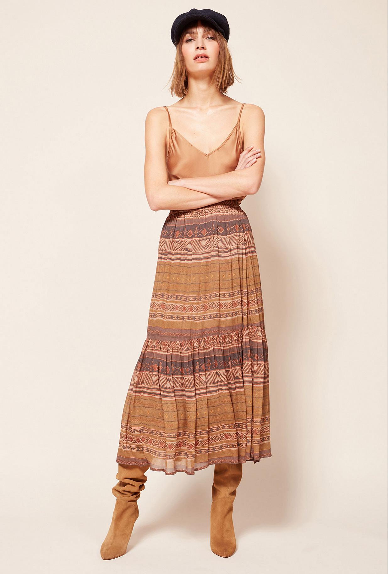Paris boutique de mode vêtement Jupe créateur bohème  Contralto