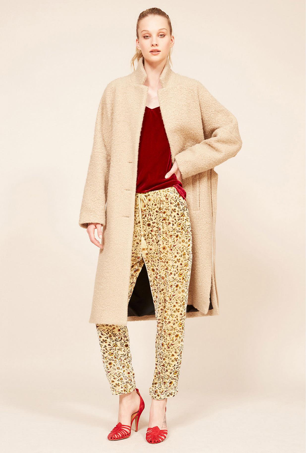 Paris boutique de mode vêtement Manteau créateur bohème  Warren
