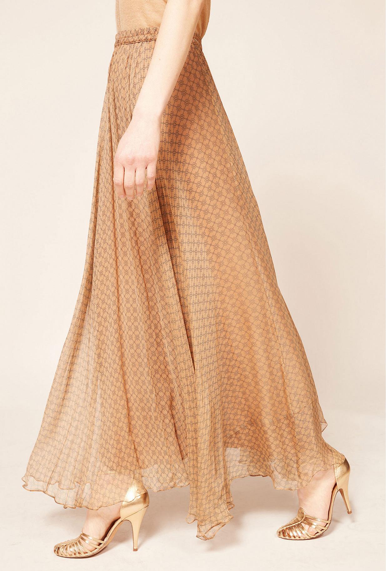 Nude Skirt Trueness Mes Demoiselles Paris