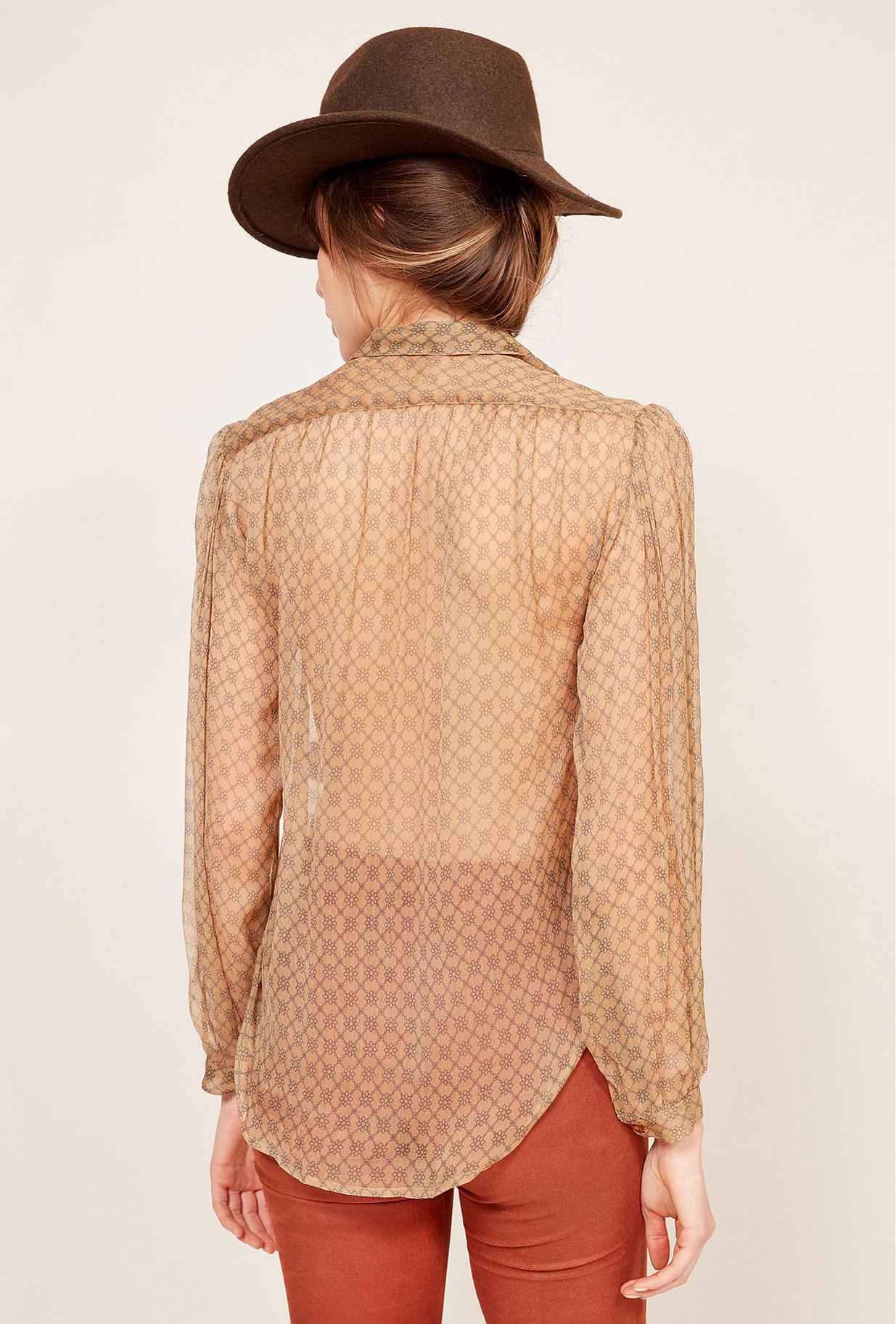 Nude  Shirt  Truman Mes demoiselles fashion clothes designer Paris
