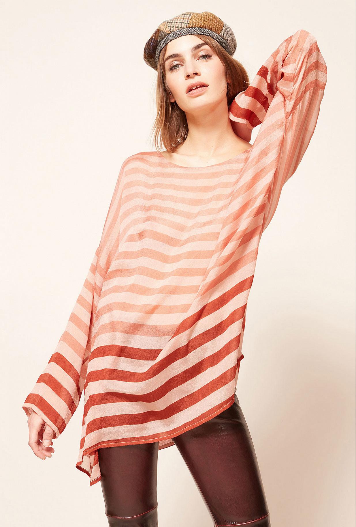 Paris clothes store Blouse  Sunrise french designer fashion Paris