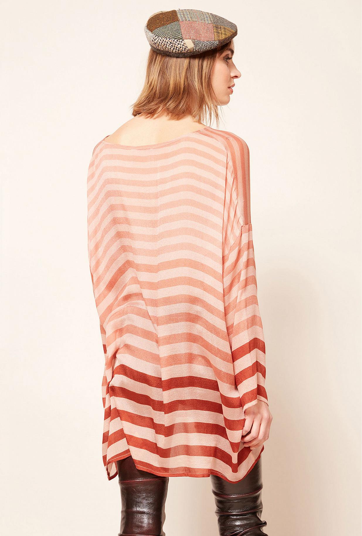 Nude  Blouse  Sunrise Mes demoiselles fashion clothes designer Paris