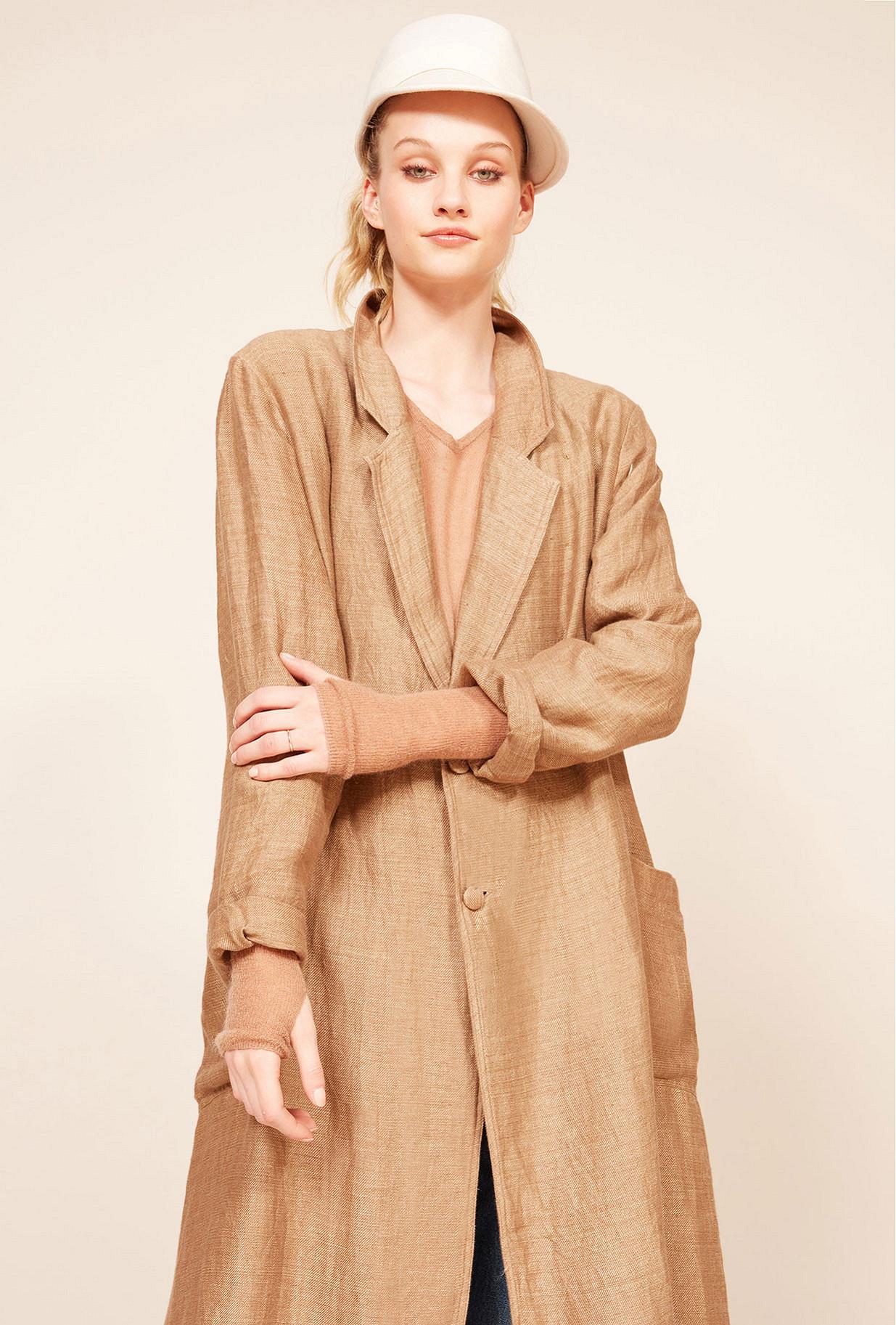 Paris clothes store Coat  Sahara french designer fashion Paris