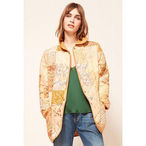 Floral print  Coat  Pachalik Mes demoiselles fashion clothes designer Paris