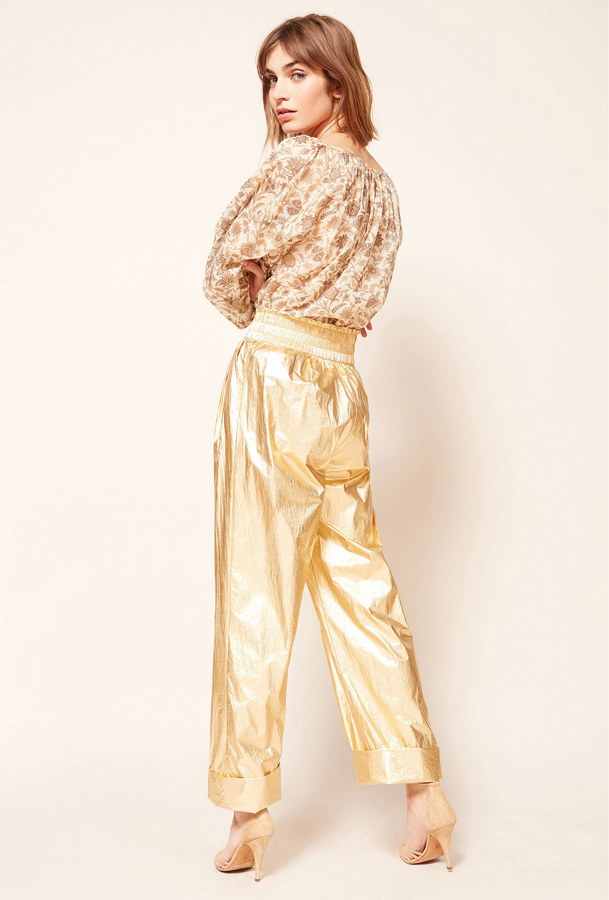 Gold pant Ovide