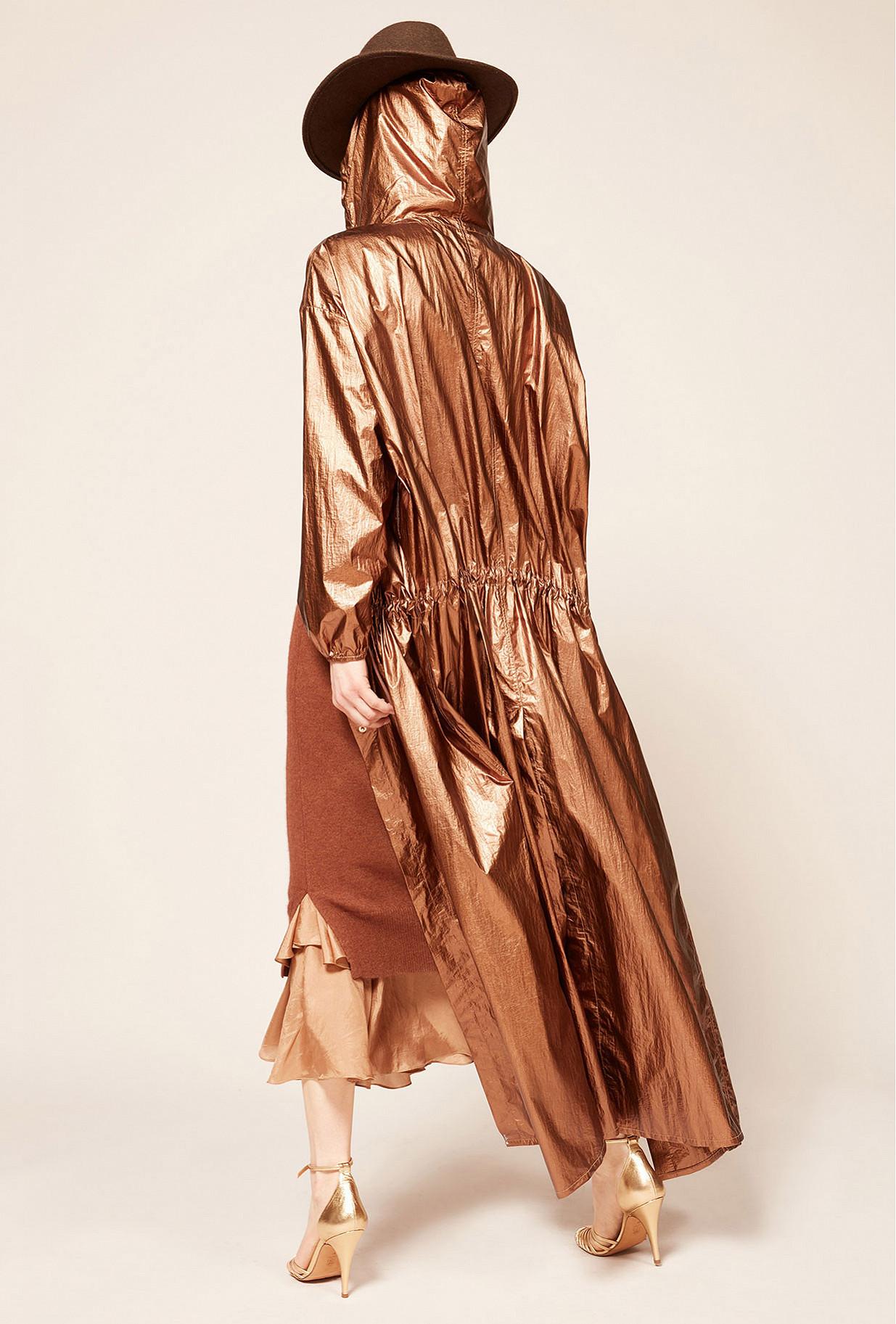 Bronze  Coat  Odyssee Mes demoiselles fashion clothes designer Paris