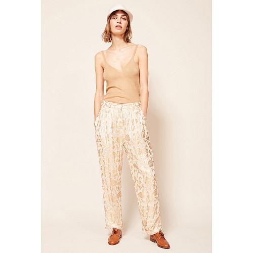 Pantalon Or  Mariano mes demoiselles paris vêtement femme paris