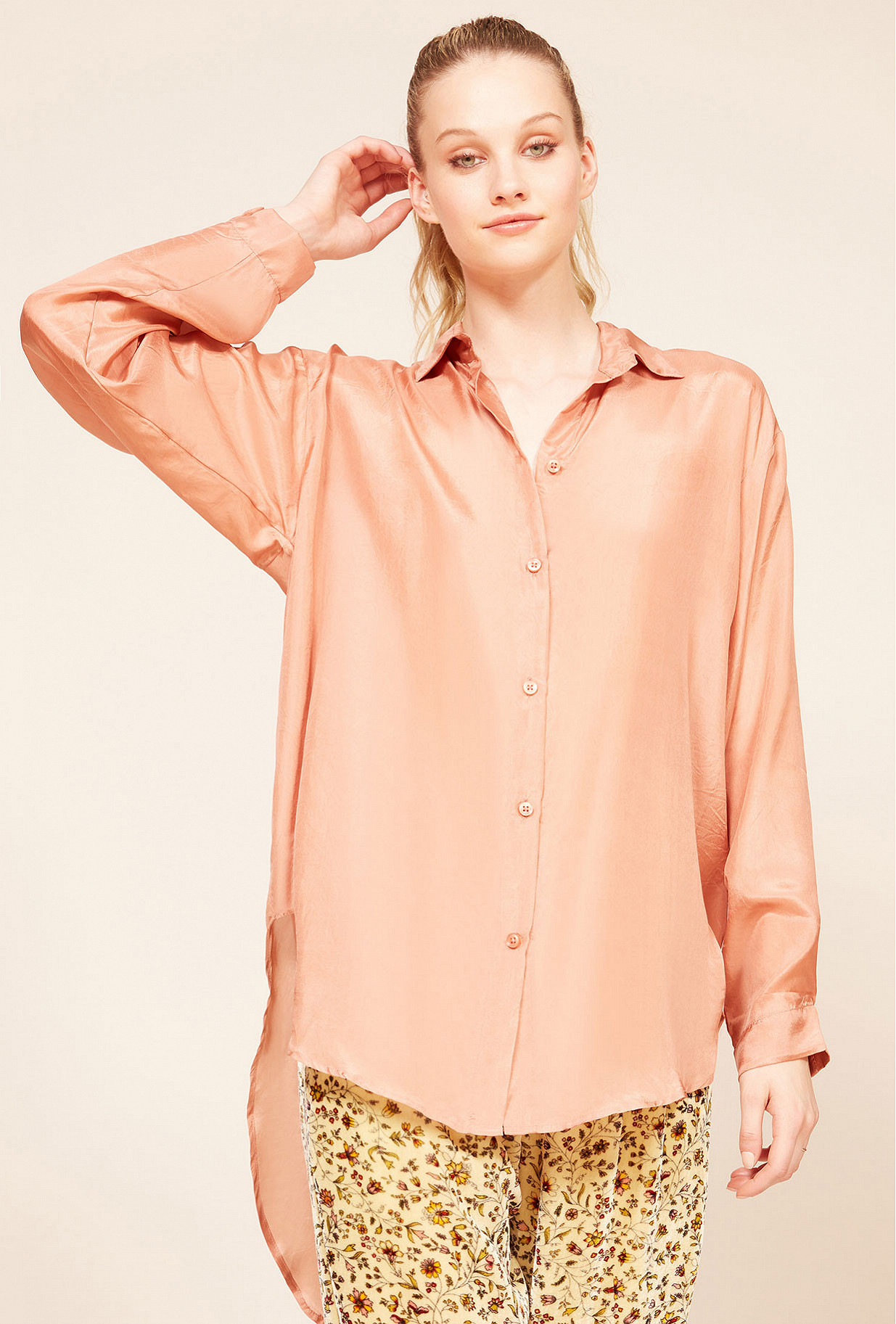 Pink  Shirt  Magal Mes demoiselles fashion clothes designer Paris