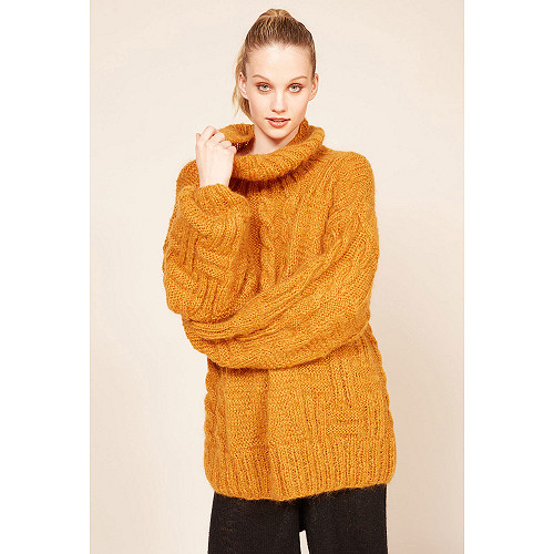 Pull Ocre Collie Mes Demoiselles Paris