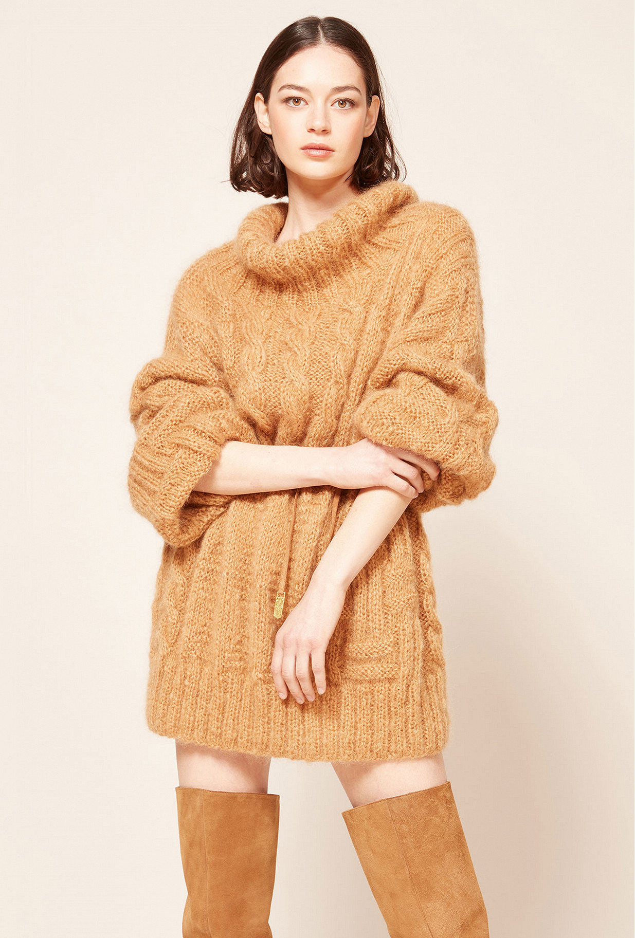 Camel Sweater Collie