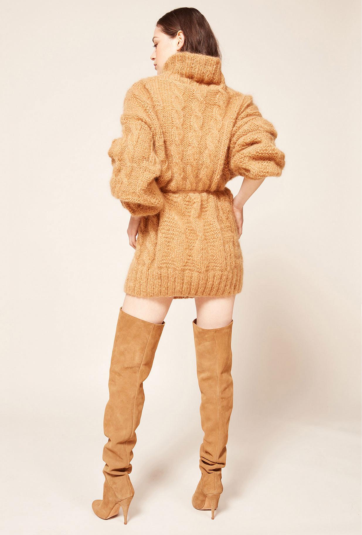 Pull Camel  Collie mes demoiselles paris vêtement femme paris