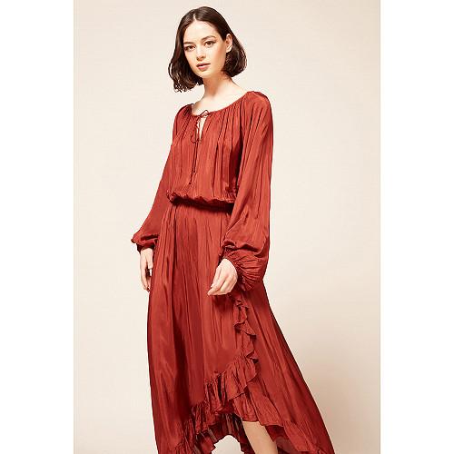 Robe Rouge  Mercedes mes demoiselles paris vêtement femme paris